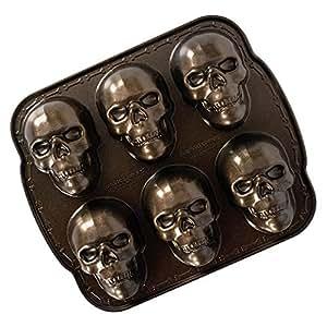 Amazon Com Nordic Ware 89448 Nordic Ware Haunted Skull