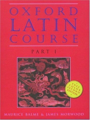 Oxford Latin Course, Part I