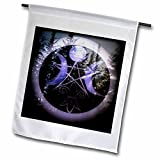 WhiteOaks Photography and Artwork - Halloween - Samhain Design is my yearly creation designed for a pagan holiday - 12 x 18 inch Garden Flag (fl_245653_1)