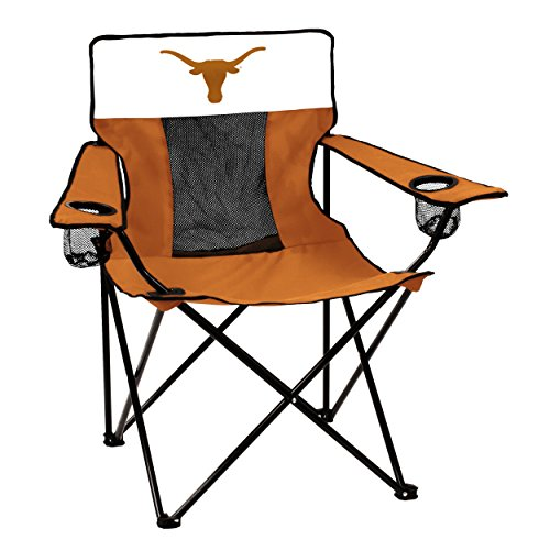 NCAA Texas Longhorns Elite Chair by Logo Brands