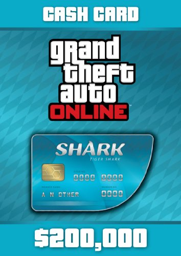 Grand Theft Auto Online: Tiger Shark Cash Card - PS3 [Digital Code] (Theft Auto Online 5 Code Grand)