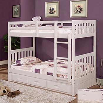 Amazon Com Acme Furniture 39995 Micah Bunk Bed And