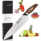 Chef Knife, Chef's Knife 8 inches, Kitchen knife German High Carbon, Stainless Steel Knives for Dealing with Meat, Fruit and Vegetables