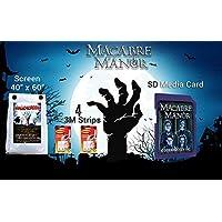 AtmosfearFX MACABRE MANOR SD Media Card And HalloScreen Scream Bundle
