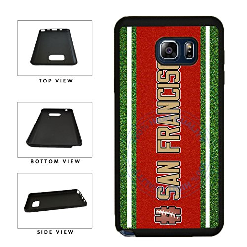 (BleuReign(TM) Hashtag San Francisco #SanFrancisco Football Team TPU RUBBER SILICONE Phone Case Back Cover For Samsung Galaxy S8 Plus )