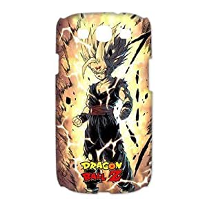 Cartoons Anime Series Dragon Ball Z Personalized White Hard Plastic For SamSung Galaxy S5 Case Cover hopping Macket, Dragon Ball Z Amazon For SamSung Galaxy S5 Case Cover
