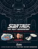 Star Trek The Next Generation: The U.S.S. Enterprise NCC-1701-D Illustrated Handbook Plus Collectible