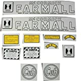 Tractor Decal Set Farmall Cub Circle Style Mylar International Cub
