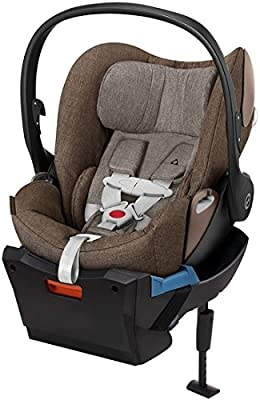 Cybex Cloud Q Plus Infant Car Seat with Base in Cashmere Beige