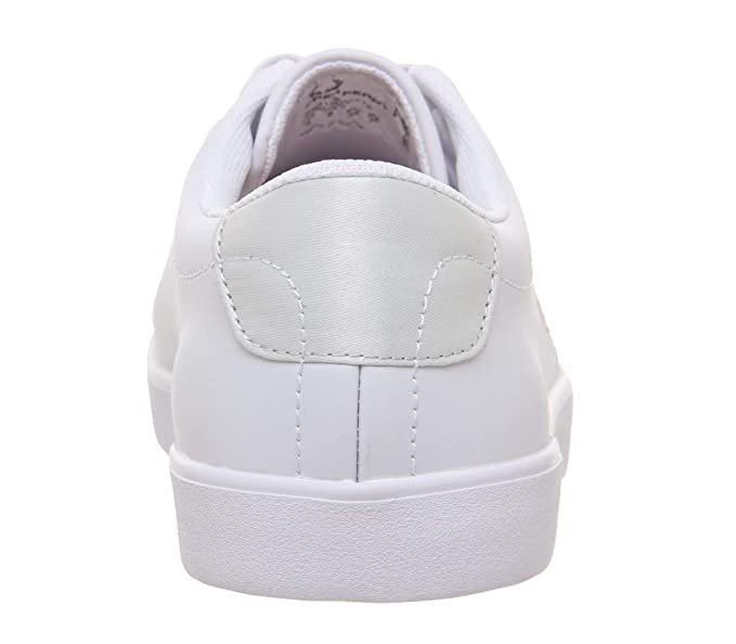 5dd0d5fe0c062 Amazon.com: Fred Perry Lottie Leather Womens Sneakers White: Clothing