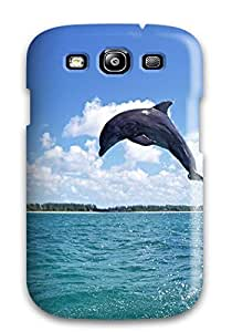 Durable Dolphins Back Case/cover For Galaxy S3