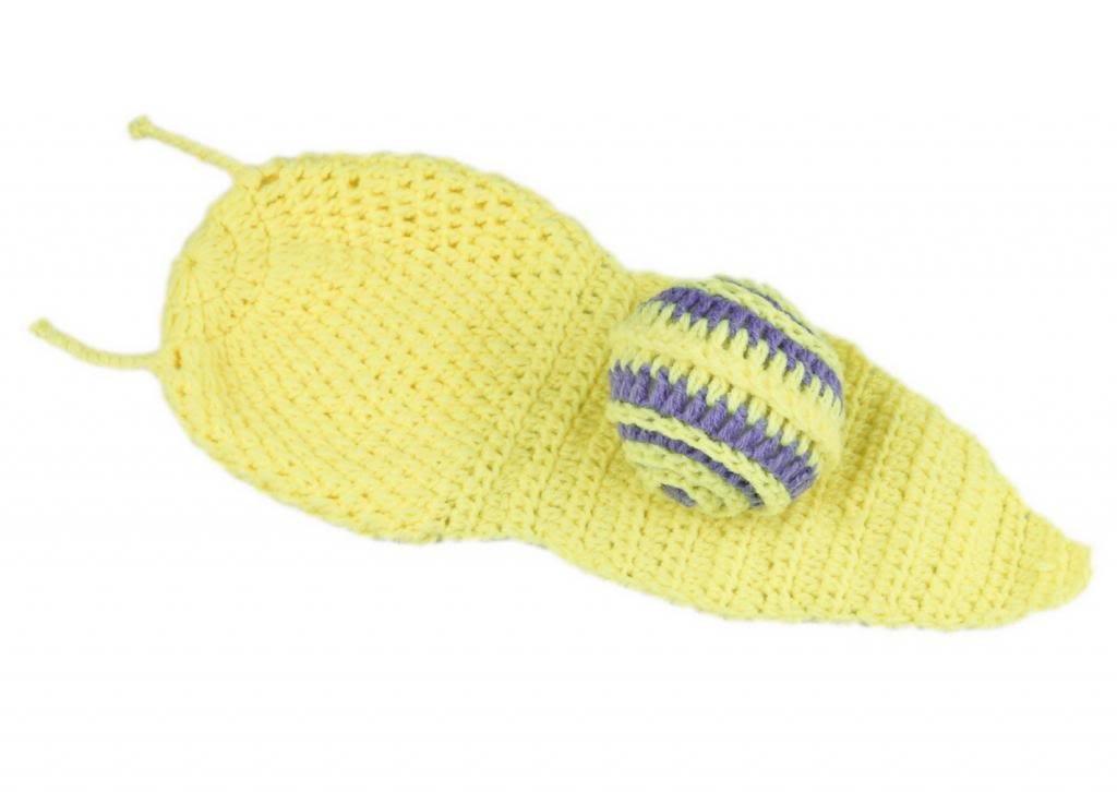 V-SOL Amarillo Caracol Bebé Recién Nacido Algodón Aminal Beanie ...