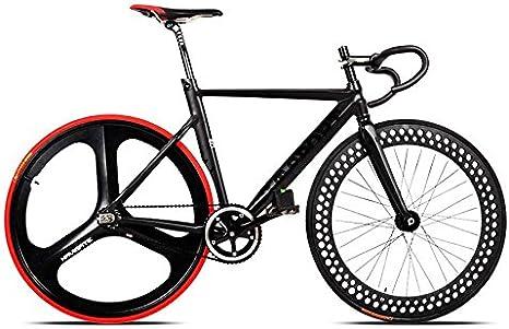 JINXL 700C Bicicleta de Carreras Bicicleta Marco de aleación de Aluminio Engranaje Fijo Fijo Cog Bicicleta de Pista Trasera Partes de Accesorios: Amazon.es: Deportes y aire libre