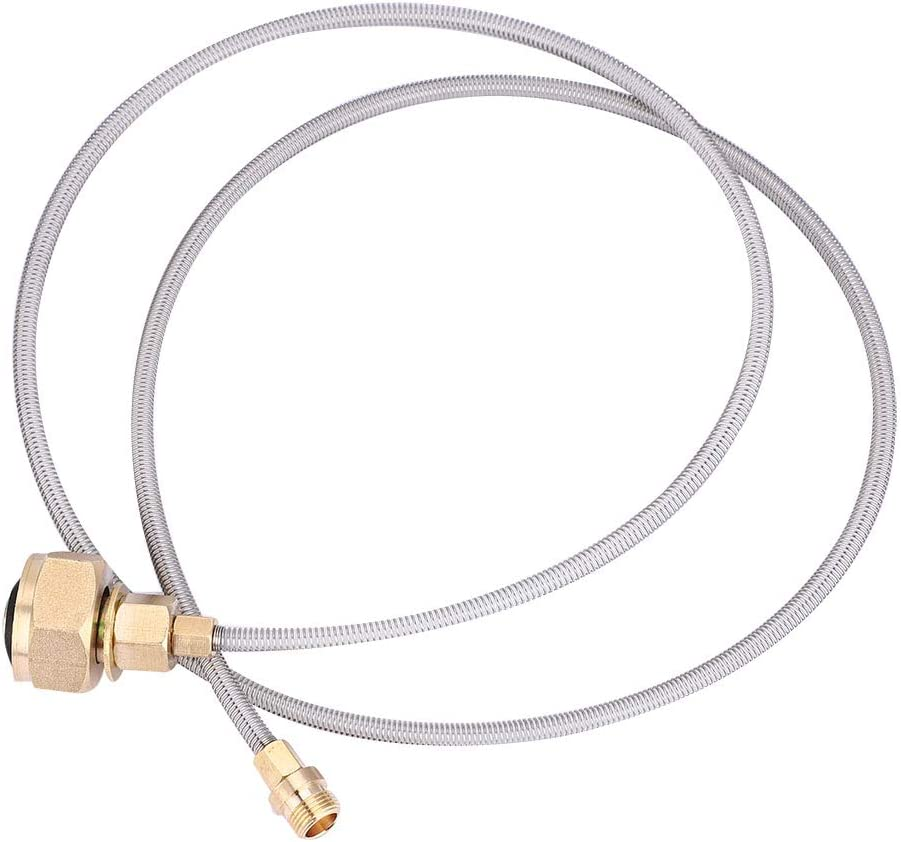 Josopa po/êle en Plein air Recharge de gaz Adaptateur t/ête de Conversion du r/éservoir de gaz en Plein air Camping r/échaud Utiliser m/énage lpg Bouteille de gaz convertir