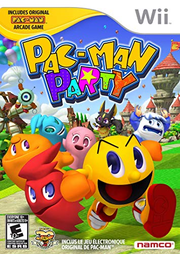 Pac-Man Party - Nintendo Wii (Renewed) (Pacman Games Party Wii)