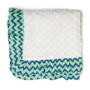 Pam Grace Creations Blanket, Zigzag Elephant (Discontinued by Manufacturer)