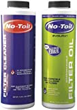 No-Toil Evo Filter Oil & Cleaner (2pk) for Motorcycles EV104