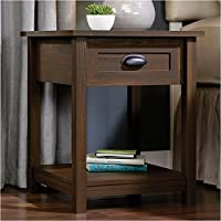 Pemberly Row Nightstand in Rum Walnut