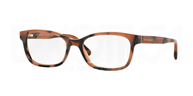 2b5ba3ba202b Image Unavailable. Image not available for. Color: Eyeglasses Burberry BE 2201  3518 SPOTTED AMBER