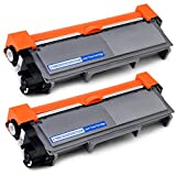 JIMIGO 2 Black TN660 Compatible Toner Cartridges Replacement for Brother TN660 TN-660 TN630 TN-630 Toner, Used in Brother HL-L2340DW HL-L2300D HL-L2320D DCPL2540DW DCPL2520DW MFCL2700DW MFCL2720DW