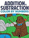 Addition & Subtraction Color By Numbers: Coloring