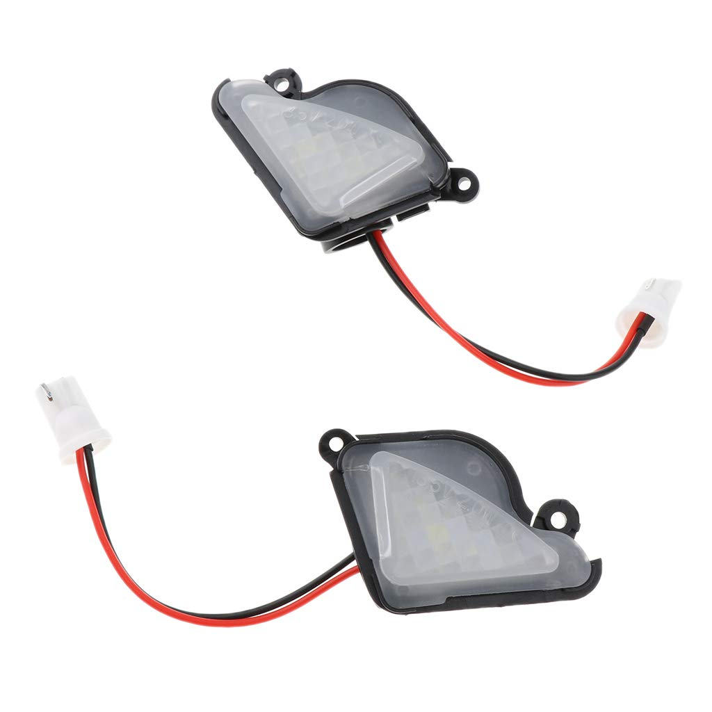 For Skoda Superb II KESOTO 2 Piece Towing Mirrors Typ 3T - 2008-2015 Turn Signal Puddle Light Heated Power Controlling Manual Folding
