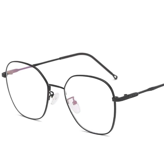 Amazon.com: Gafas mariposa tendencia plano espejo marco ...