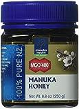 Manuka Health - MGO 400+ Manuka Honey, 100% Pure New Zealand Honey, 8.75 oz (250 g)