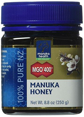 Manuka Health MGO 400+ Manuka Honey (20+), 250gm - 100% Pure New Zealand Honey