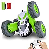 RC Stunt Car , Remote Control Car 360°Flips Double Sided Rotating Vehicles , 2.4GHz 1:28 Super Off-Road Toys Christmas Birthd