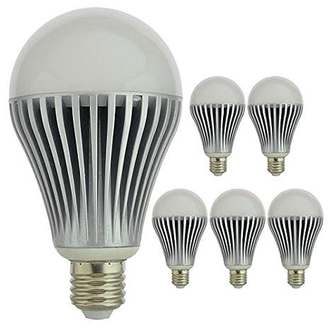Ledwholesalers 10 Watt Led Bulb Standard Screw Base A80 60 Watt Replacement Warm White 1020ww