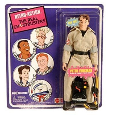 Mattel Retro Action The Real Ghostbusters SDCC 2010 San Diego Comic Con Exclusive Action Figure Peter (Ghostbuster Accessories)
