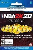 NBA 2K20: 75000 VC Pack - [PS4 Digital Code]