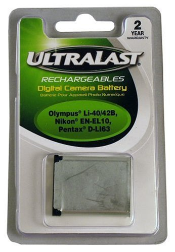 Ultralast UL-LI40B Olympus LI-40B Equivalent Digital Camera Battery 800 Mah Fuji Battery