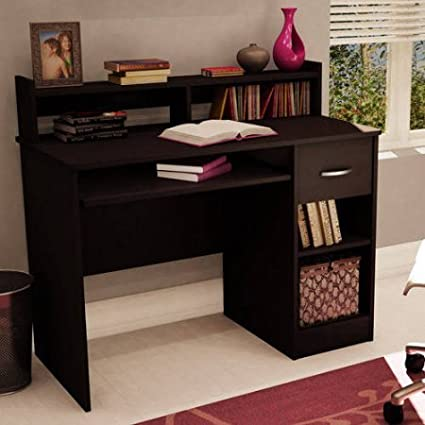 South Shore Smart Basics Small Desk, Chocolate South Shore Furniture7250076C