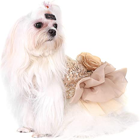 Garosa Vestido De Perro para Mascotas Ropa para Perros Pequeños ...