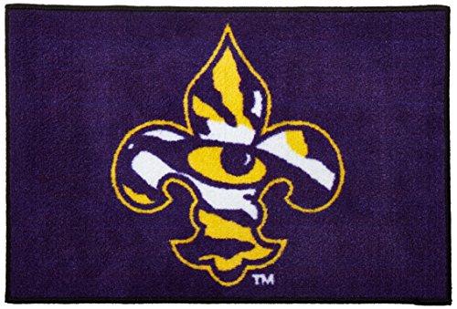 NCAA Louisiana State University Starter Mat, Small, Black