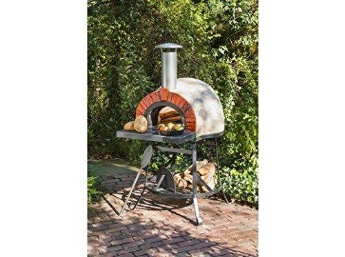 Rustic Wood Fired Oven (Natural) (6'2''H x 3'1''W x 3'2''D) by Rustic Warehouse