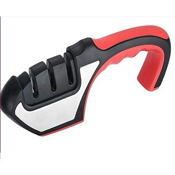 Afilador de cuchillos de tres etapas Para todos los tipos de ...
