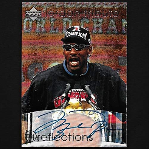 Upper Deck Michael Jordan Autograph Signed 1998 Card #70 w/COA Bulls