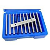 Machinist's Thin Parallel Bar Set - 10 Pair