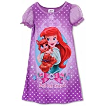 Disney Little Girls Princess Palace Pets Toddler Gown, Nightgown sizes 2T-4T