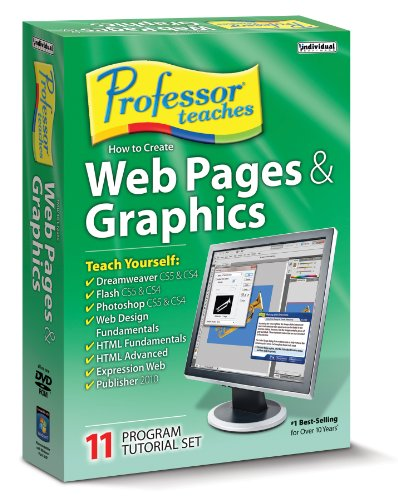 Professor Teaches Web Pages and Graphics 8