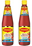 Maggi Rich Tomato Sauce No Onion No Garlic 500 gm (Pack of 2)
