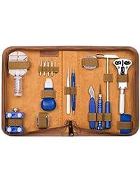 155 Pcs Portable Watch Repair Tools Kit Set Back Case Opener Remover
