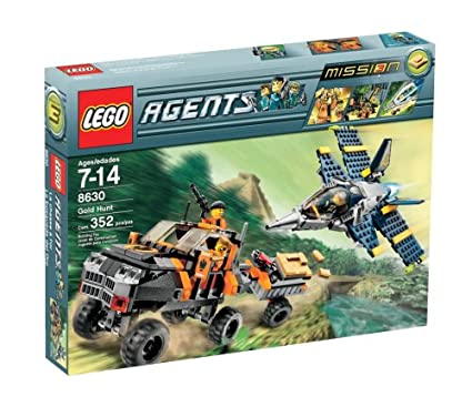 Gold Hunt Lego Agents 8630 Mission 3 No Lego bricks INSTRUCTION BOOK ONLY