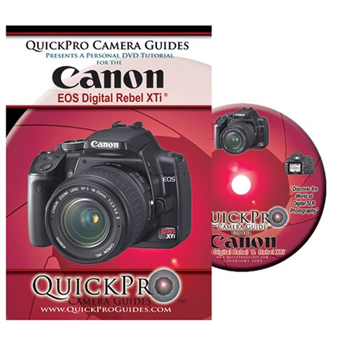 Canon Rebel XTi Instructional DVD by QuickPro Camera (Rebel Xti Dvd)