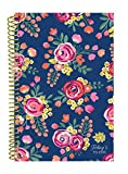 bloom daily planners Bound To-Do List Book - Planning System Tear Off To Do Pads - UNDATED Daily Planner To Do Pad 6'' x 8.25'' Vintage Floral