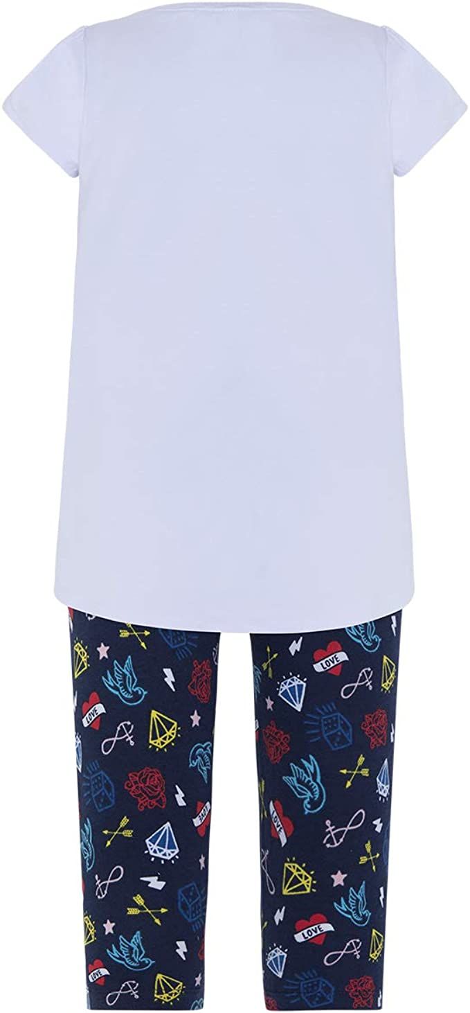 Tuc Tuc Camiseta+Leggings Punto Piratas Good Vibes Ensemble Fille