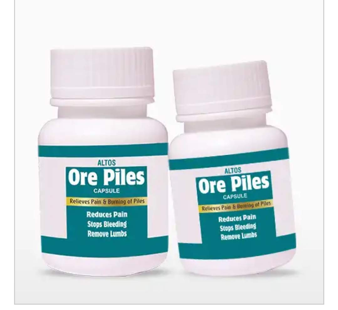 Buy Ore Piles Capsule Online At Low Prices In India Amazon In